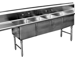 4 Bowl Stainless Sink
