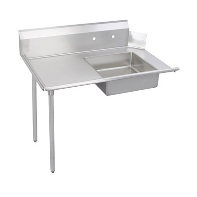 Soiled Dish Table, 48″ on Left